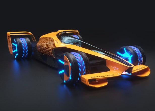 Shapeshifting AI Race Vehicles