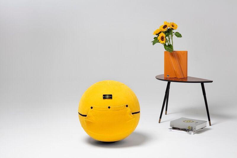 Fashion-Covered Exercise Balls