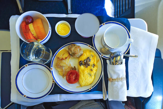 Charitable Airplane Meal Donations