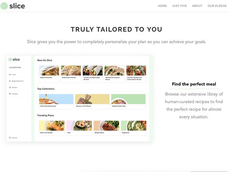 Curated Meal Preparation Platforms