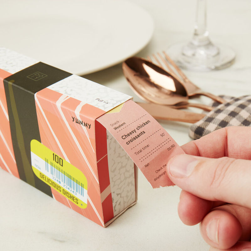 Meal-Suggesting Ticket Boxes