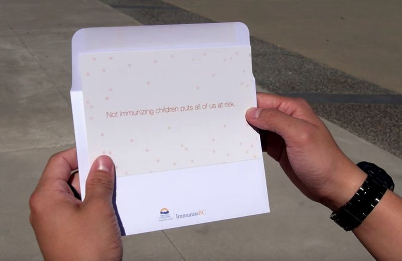Vaccination-Promoting Postcards