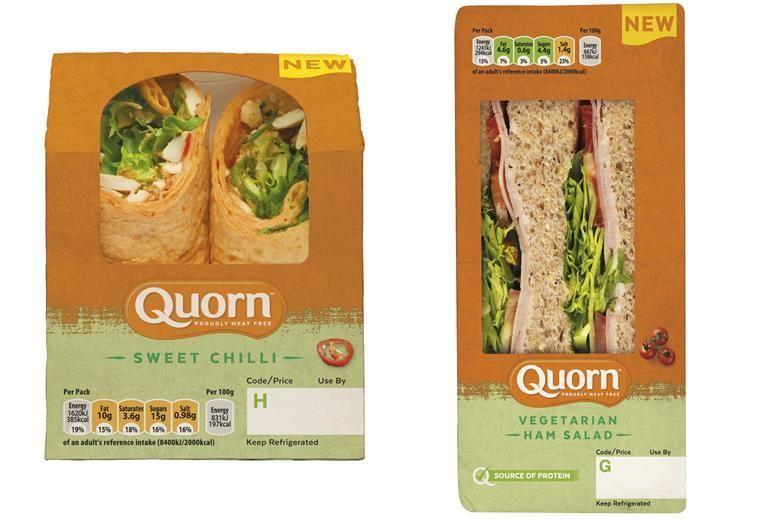 Convenient Plant-Based Sandwiches