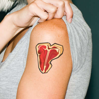 Carnivorous Temporary Tattoos