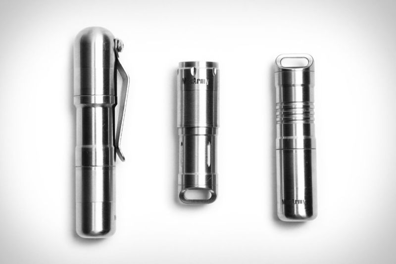 Sleek Flashlight-Lighter Combinations