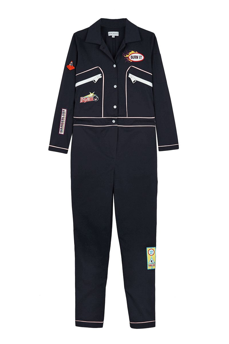 Mechanic-Inspired Jumpsuit Apparel