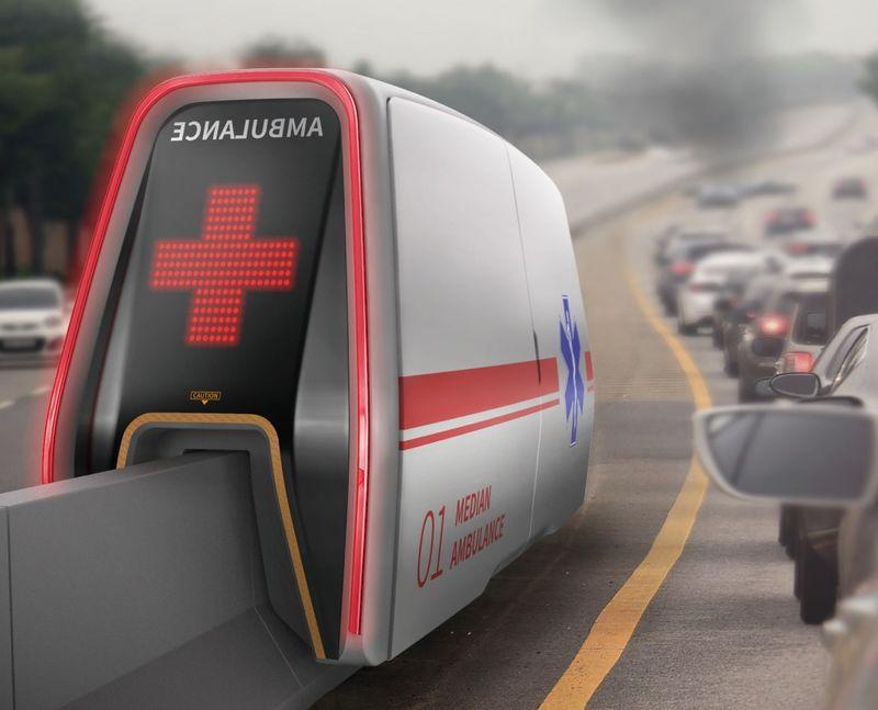 Highway Median Ambulances