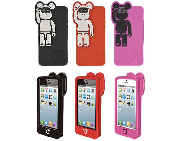 Silicone Bear Phone Covers