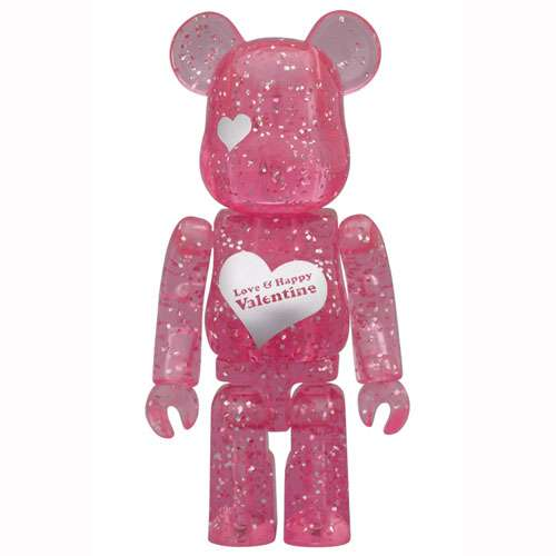 Silver-Studded Heart Teddies