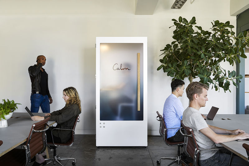 Soundproof Meditation Booths