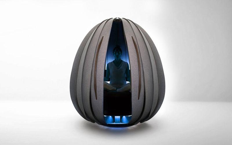 Productivity-Boosting Meditation Pods