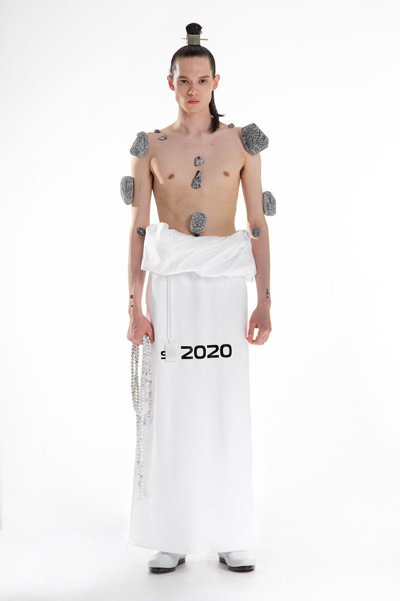Futuristic Meditative Fashion