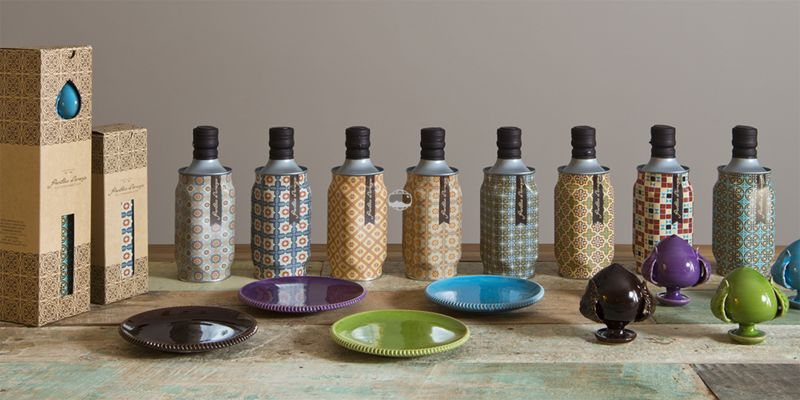 Biomorphic Patterned Olive Oils