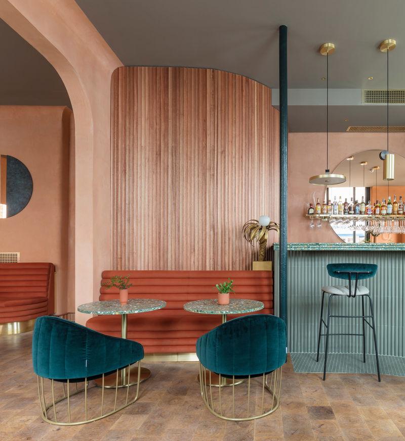 Mediterranean Inspired Restaurant Interiors