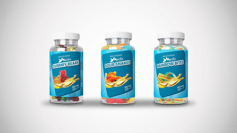 Tasty Medicinal CBD Gummies