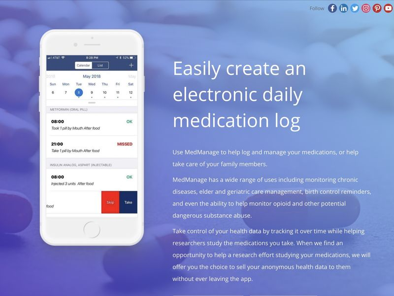 Medication-Monitoring Apps