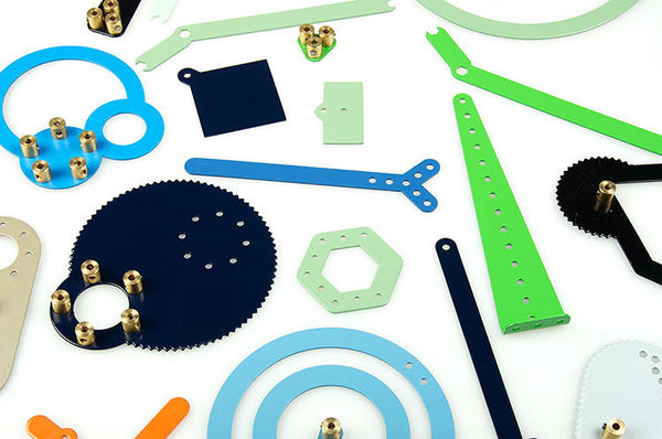Modernized Meccano Toys
