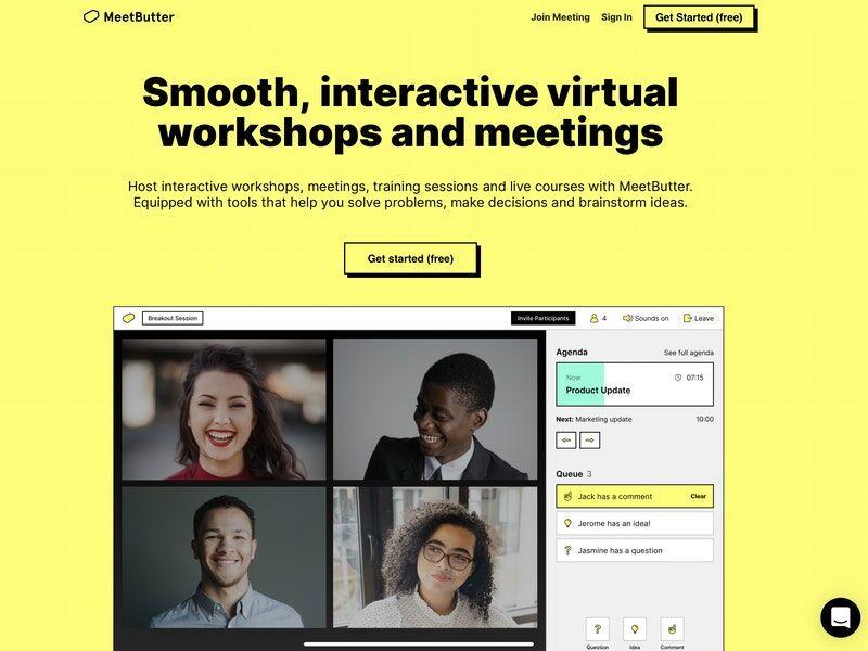 Organized Virtual Meeting Platforms