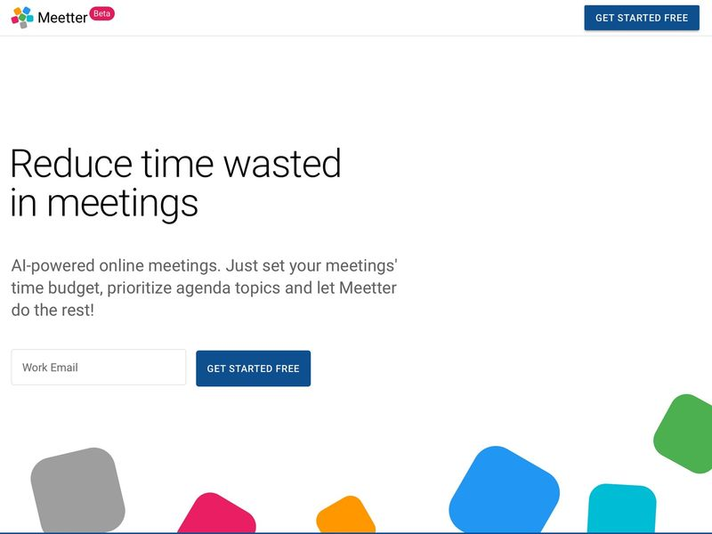 Time-Reducing Meeting Platforms