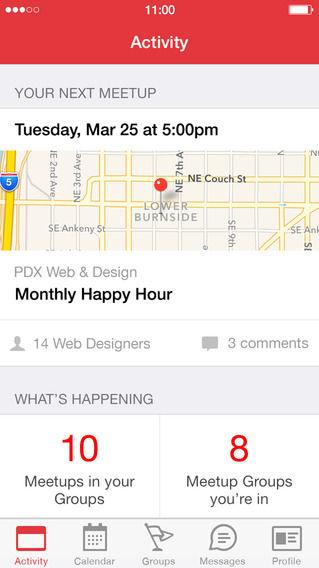 Gathering-Organizing Apps