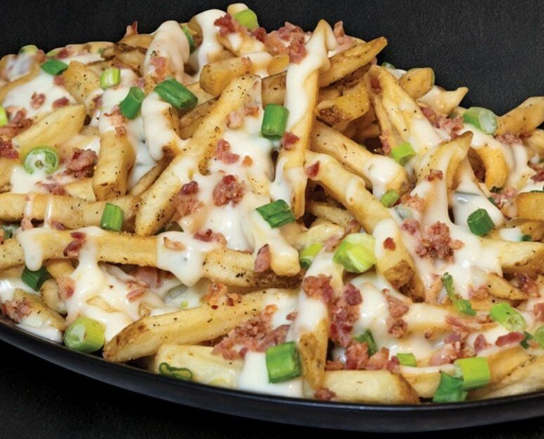 Crispy Queso-Topped Fries