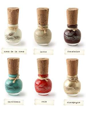 Corked Polish Bottles