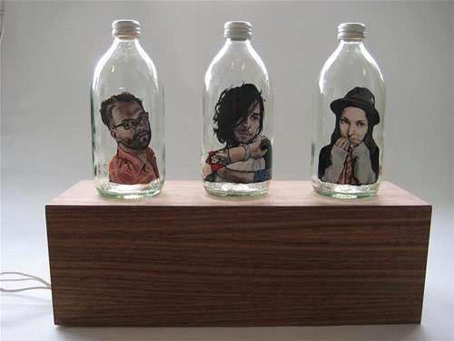 Glass Bottle Portraits