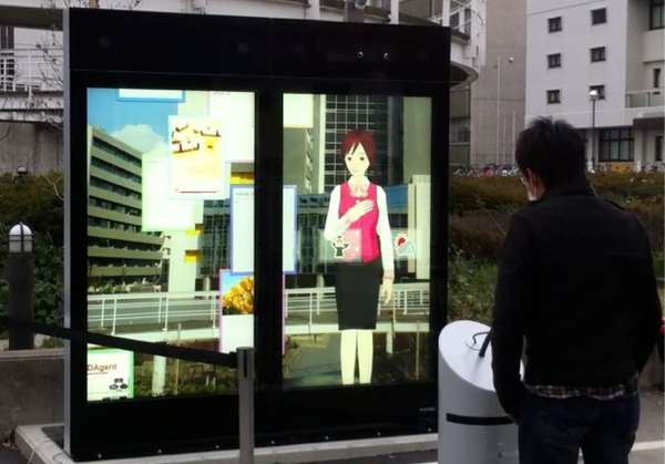 Life-Size Digital Tour Guides