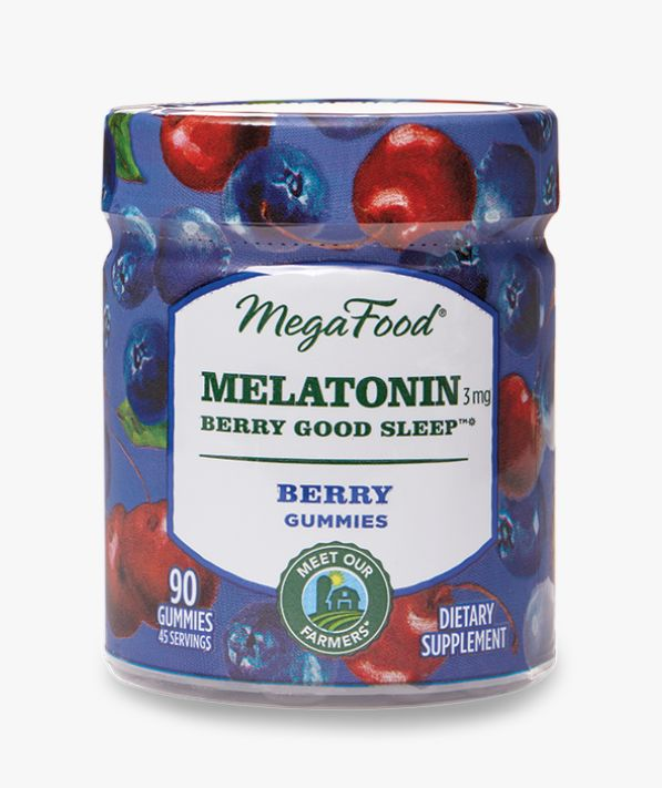 Berry-Infused Melatonin Gummies