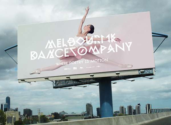 Barely-Legible Ballet Ads