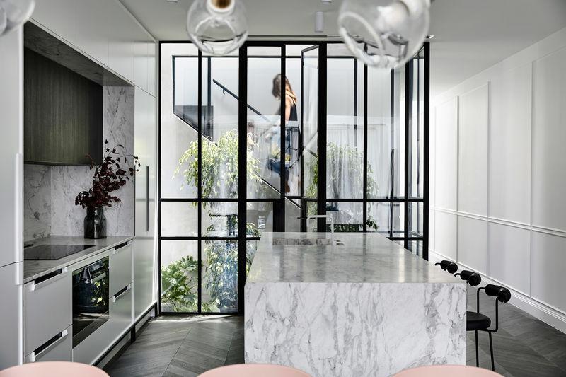 Parisian-Informed Melbourne Terrace Houses