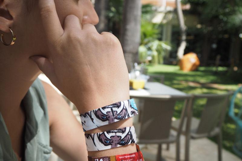 Room-Charging Resort Bracelets