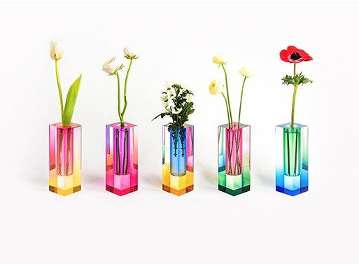 Chromatic Flower Vases Mellow Vases