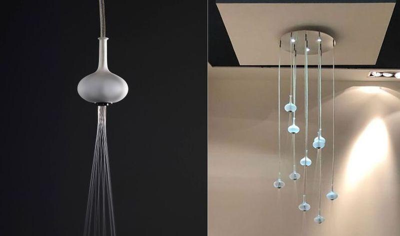 Elegant Lighting Solution Showers