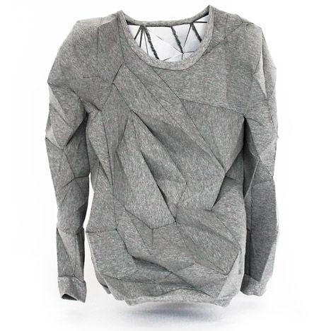 Dissolving Designer Sweatshirts