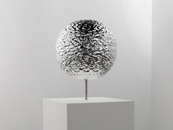 Rippling Reflective Sculptures