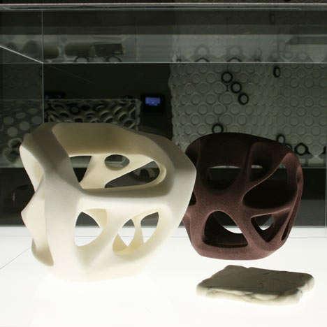 Futuristic Foam Furniture