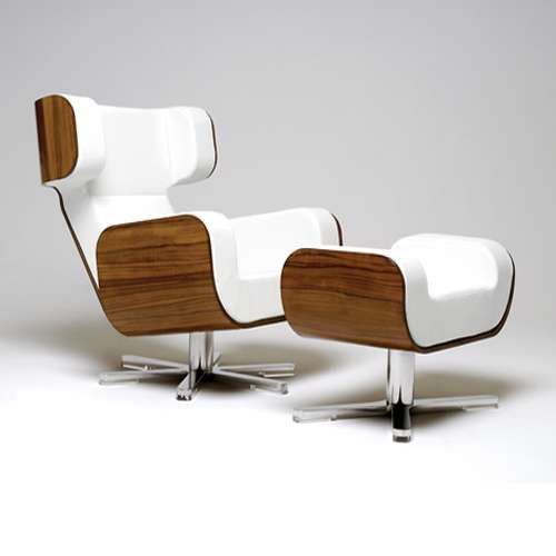 Superbe Memory Foam Wing Chairs