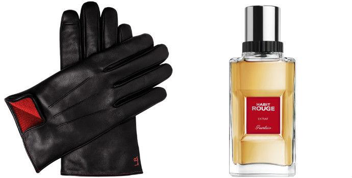Scented Men's Gloves