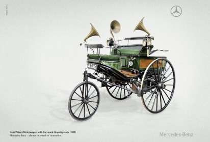 Quirky Vintage Car Ads