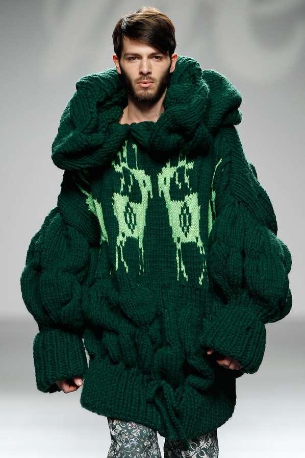 Zealously Vibrant Sweaters