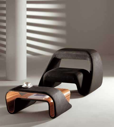Futuristic Foam Furniture