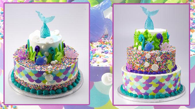 Aquatic Folklore Cakes Mermaid Cake