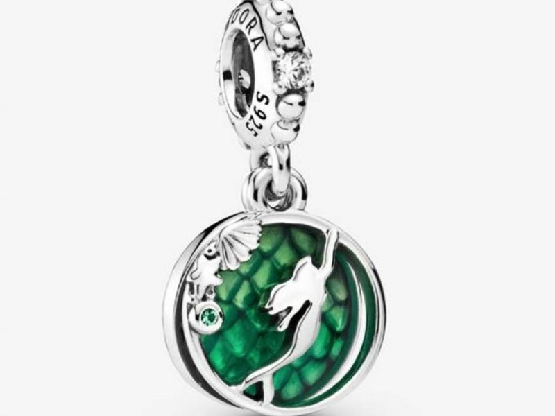 Mermaid-Themed Jewelry Charms