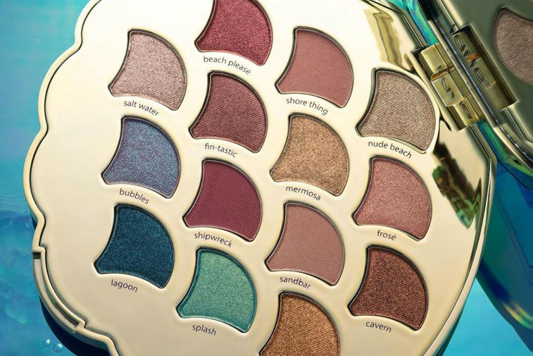 Whimsical Mermaid-Inspired Makeup Palettes