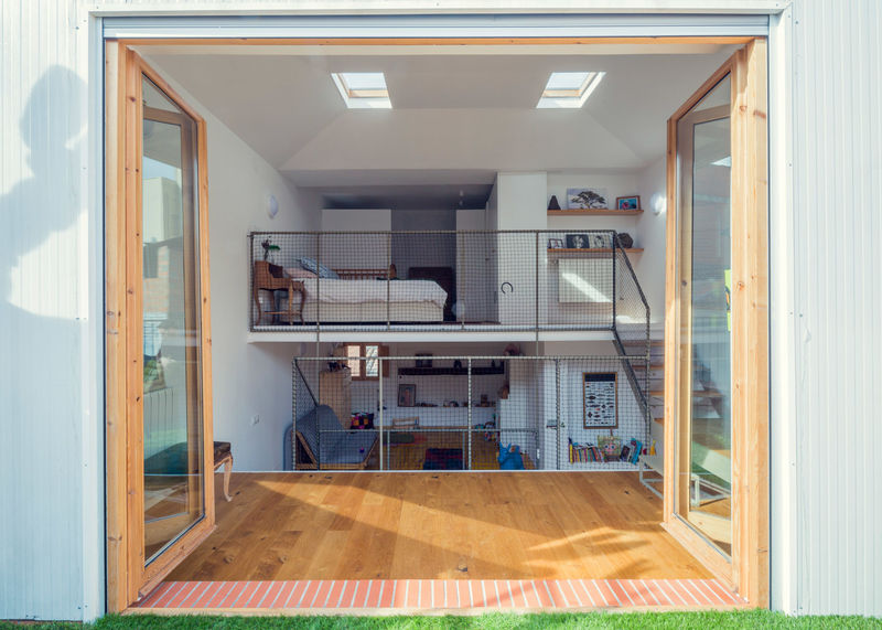 Modern Mesh Room Dividers