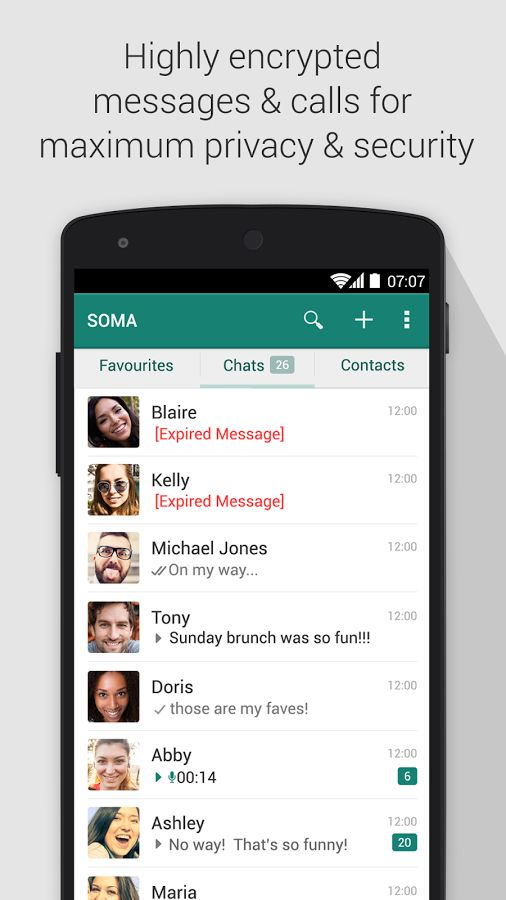 Encrypted Communication Apps