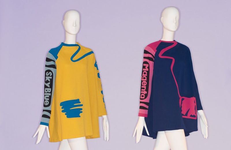 Colorfully Quirky Fashion Exhibits