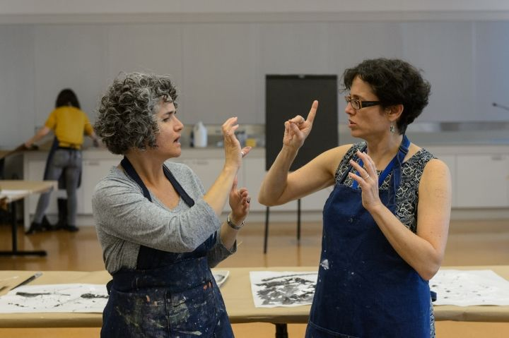 Online ASL Art Exhibits