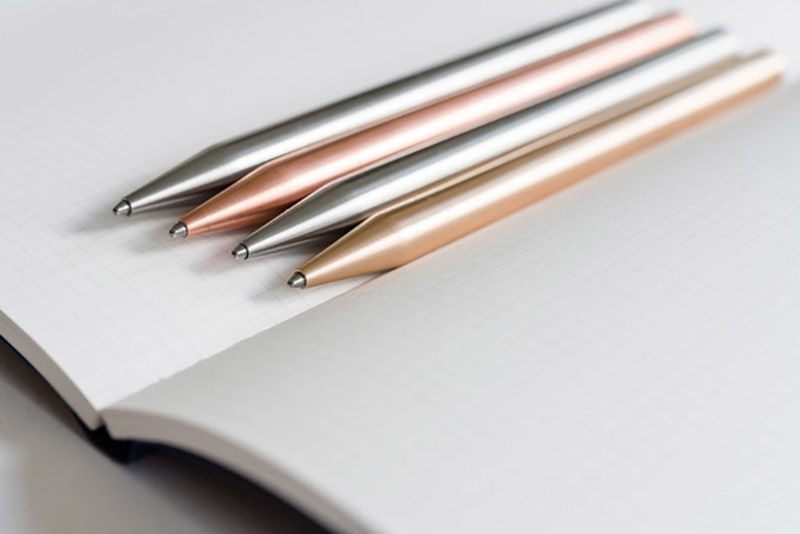 Sleek Minimalist Metal Pens